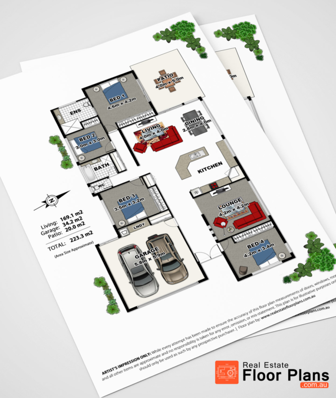 Buderim Estate – Marketing Floor Plan and Site Plan