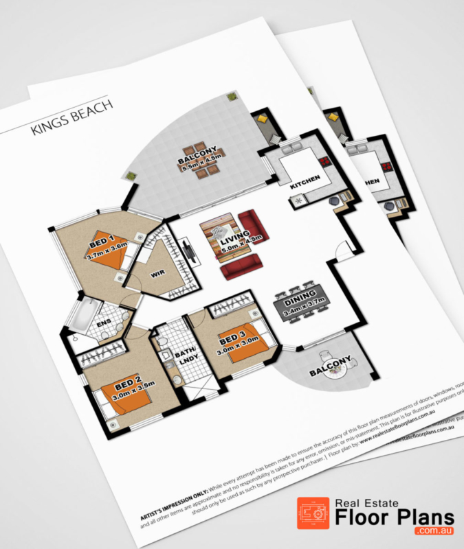 2 bedroom unit floor plan kings beach real estate for Floor plans real estate