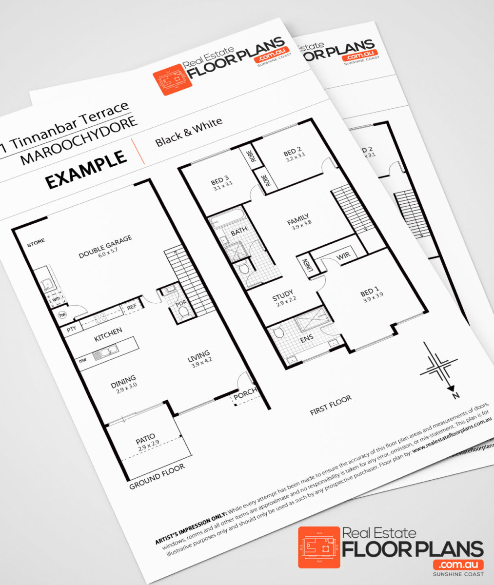 99 black white real estate floor plans inc measure for How to create floor plans for real estate