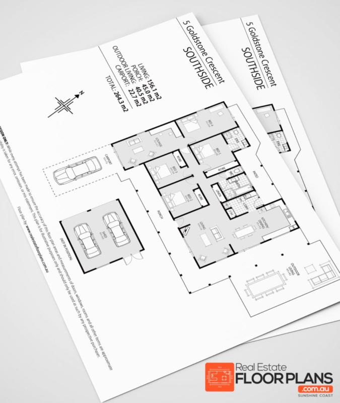 Gympie Real Estate Floor Plan