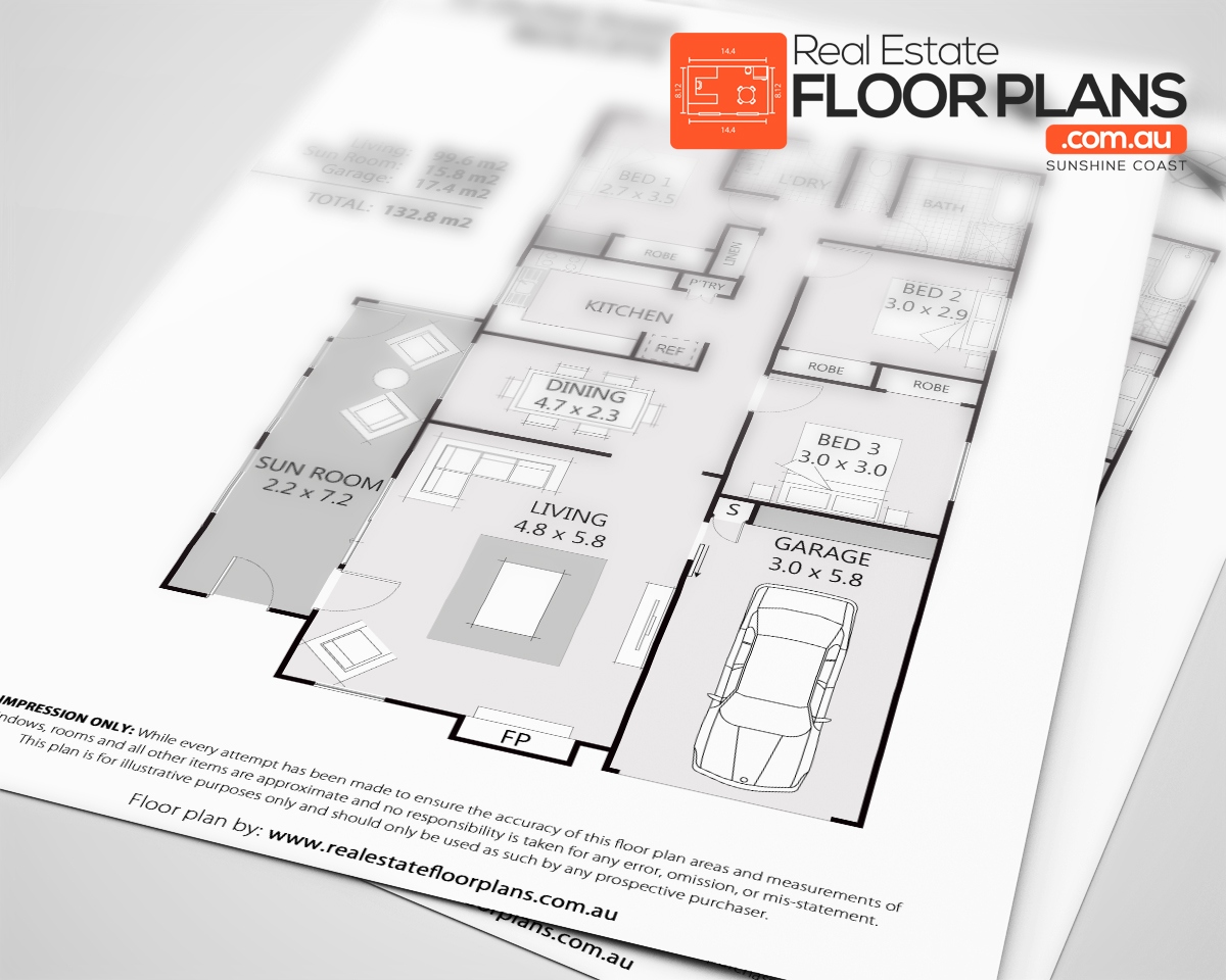 portfolio our real estate floor plans real estate floor plans 3 bedroom house redcliffe marketing floor plan