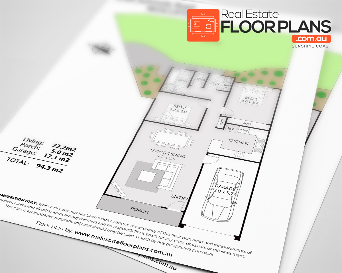 portfolio our real estate floor plans real estate floor plans 2 bedroom unit with courtyard redcliffe